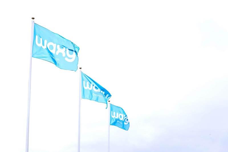 waxy flaggor